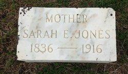 Sarah E. <I>Truitt</I> Jones