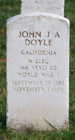 John J A Doyle