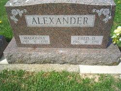 Fred D Alexander