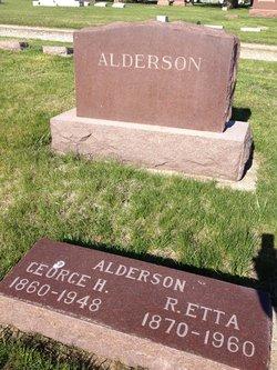 Ruth Etta <I>Brown</I> Alderson
