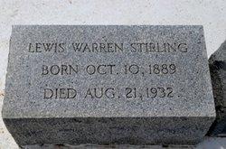Lewis Warren Stirling
