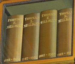 """Florence Ethel """"Nana"""" <I>Whitaker</I> Milligan"""