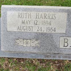 Ruth <I>Harris</I> Bazar