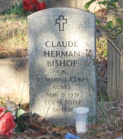 "Corp Claude Herman ""Dutch"" Bishop, Sr"