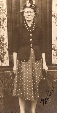 Elizabeth <I>Burdette</I> Hall