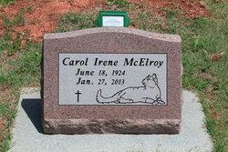 Carol Irene <I>Bavinger</I> McElroy