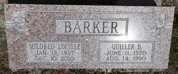 "Mildred Lucille ""Sissie"" <I>Smith</I> Barker"