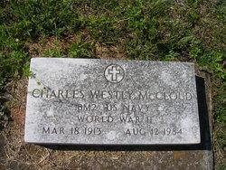 Charles Westly McCloud