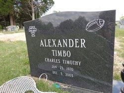 "Charles Timothy ""Timbo"" Alexander"