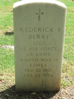 Frederick S Berry
