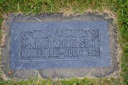 Sarah Mary <I>Randall</I> Olsen