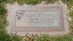B Allene Connell