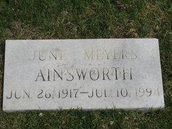 June <I>Meyers</I> Ainsworth