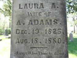 Laura A <I>Slocum</I> Adams