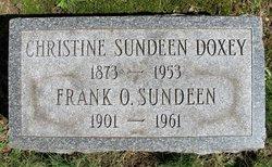 Christine <I>Olsen</I> Doxey