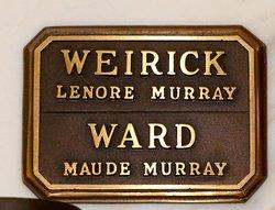 Lenore <I>Murray</I> Weirick