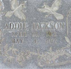 Addie <I>Grantham</I> Jackson