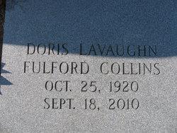 Doris Levaughn <I>Fulford</I> Collins