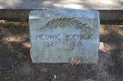 """Hedwig """"Hattie"""" <I>Hugo</I> Boenigk"""