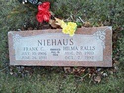 Hilma Irene <I>Ralls</I> Niehaus