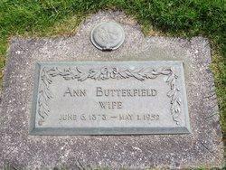 Ann <I>Uren</I> Butterfield