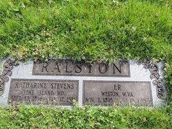 Katherine <I>Stevens</I> Ralston