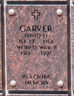 Lieut David H Garver