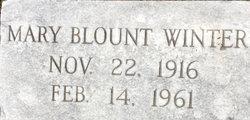 Mary Blount Winter