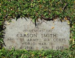 """Carson """"Smitty"""" Smith"""