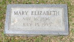Mary Elizabeth <I>Davenport</I> Adams