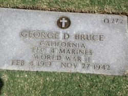 PFC George Douglas Bruce