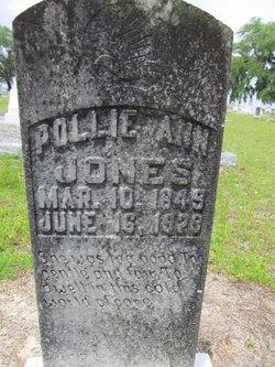 """Mary Ann """"Pollie Ann"""" <I>Gaskins</I> Jones"""
