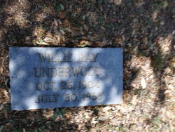 Willie Ray Underwood