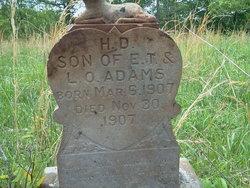 Harrell D. Adams