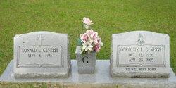 "Dorothy L ""Dot"" <I>Rayner</I> Genesse"