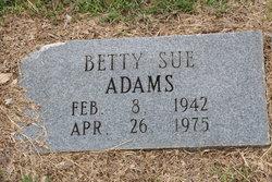 Betty Sue Adams