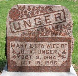 Mary Etta <I>Wood</I> Unger