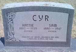 Hattie Estella <I>Parrish</I> Cyr