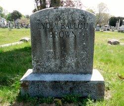 Lydia Ballou <I>Almy</I> Brown