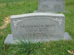 Nellie <I>Barnett</I> Brown