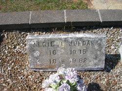 "Algiers Lee ""Algie"" Jordan Sr."