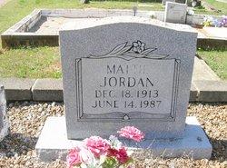 Mattie <I>Harris</I> Jordan