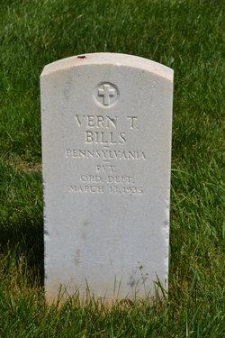 Vern T Bills