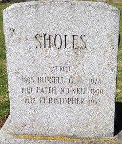 Russel George Sholes