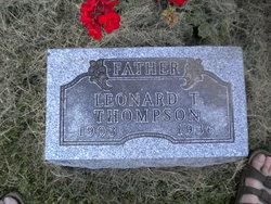 Leonard Tosten Thompson