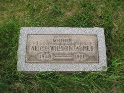 Alice <I>Wilson</I> Ayres