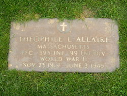 PFC Theophile L. Allaire