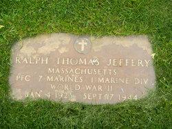 PFC Ralph Thomas Jeffery