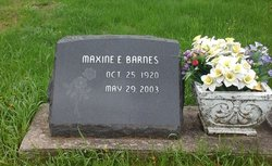 Maxine Elizabeth <I>Lincoln</I> Barnes