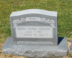 Bertha Lenora <I>Upton</I> Edwards